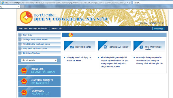 Sử dụng chứng thư số do Ban Cơ yếu Chính phủ cấp phục vụ triển khai dịch vụ công trực tuyến của Kho bạc Nhà nước